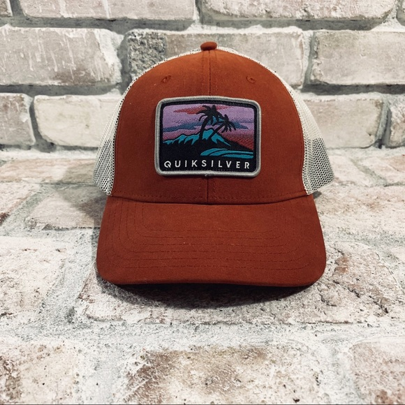 33266cd3 Quiksilver Accessories | Quicksilver Snapback Hat | Poshmark